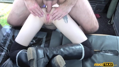 2018-07-04 - FakeTaxi - Anna De Ville - Brunette anal down to the balls (2018/Full-HD/1080p)