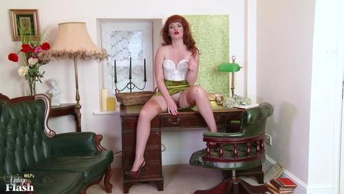 VintageFlash - Zoe Page - The gardener's disgrace! 1080p