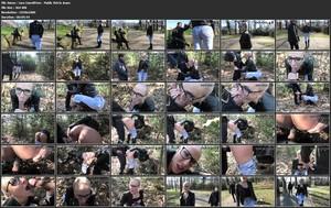 Lara-CumKitten - Public Fick in Jeans und Stiefeln - Spermawalk mitten im Stadtpark (2019/MyDirtyHobby/FullHD)